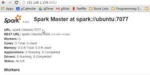 spark://nameofhost:7077
